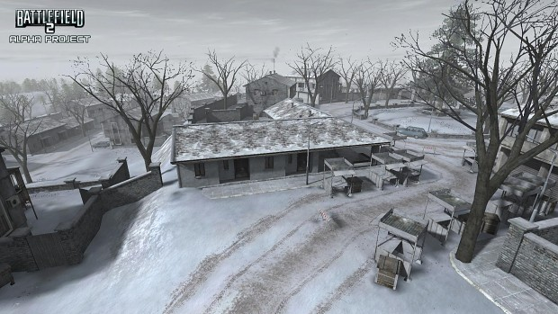 Winter Town Ingame and M2A2 Bradley