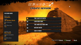 New Create Session Menu [V15.2 Rev.1]