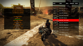 Debug Vehicle List
