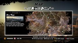 Revised 'Map' Menu