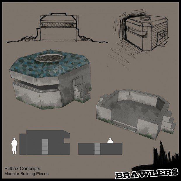 Brawlers Environment Art Concepts