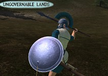 Flenean Warrior With Throwing Spears