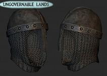Worn Teutanian Mortal Order Helmet