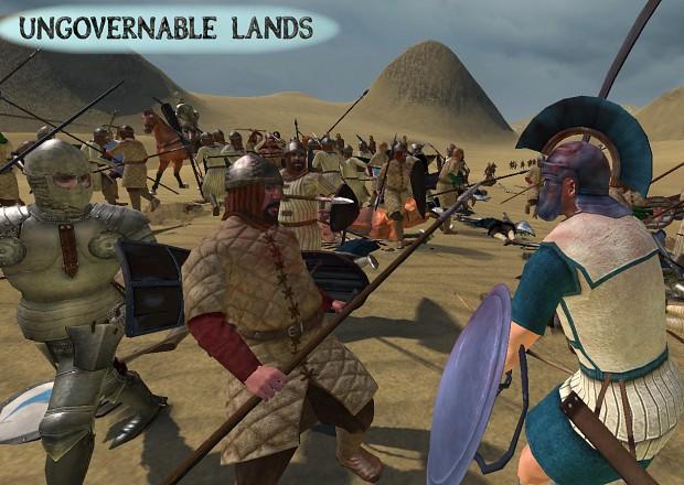 Battle in the deserts of Obraga