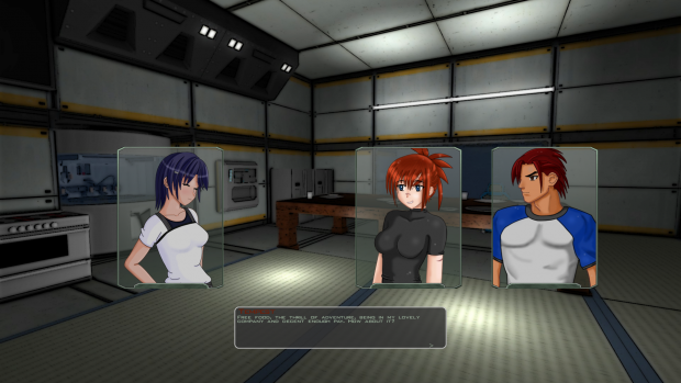 Wings of Dawn visual novel segment