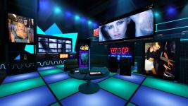 Miley Cyrus VIP Lounge