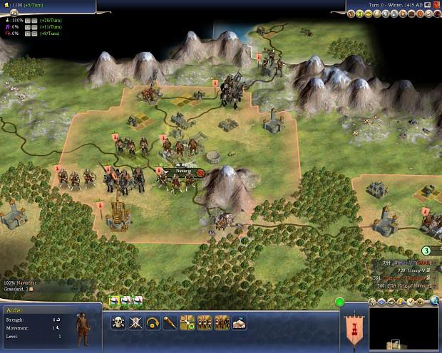 The Kingdom of Navarre (Agincourt scenario)