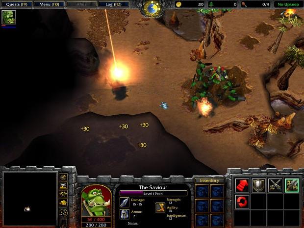 Orc Start Screenshots