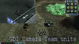 GDI Infantry Camera Units
