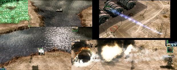 Griffin MRLS / Striker Orca / Ballistic Juggernaut