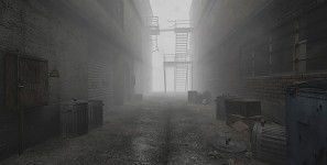 Silent Hill slums