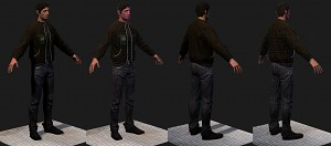 Norman model (main character)