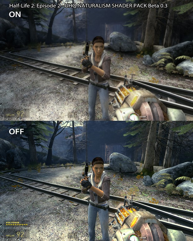Half-Life 2 EP2 - UHQ Natural Shader Comparison 5