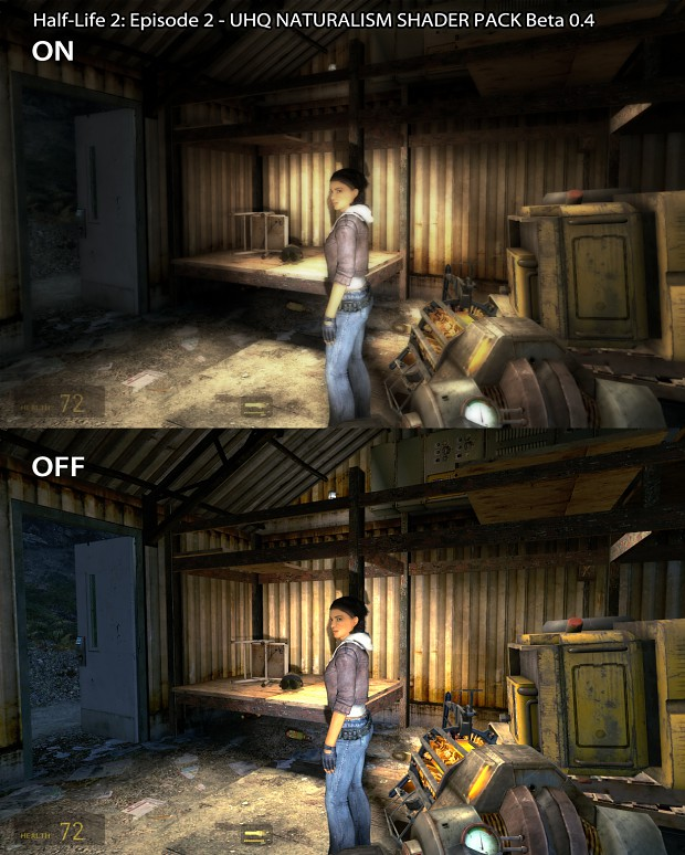 HL2: EP2  - Natural Shaders Pack Comparison 5