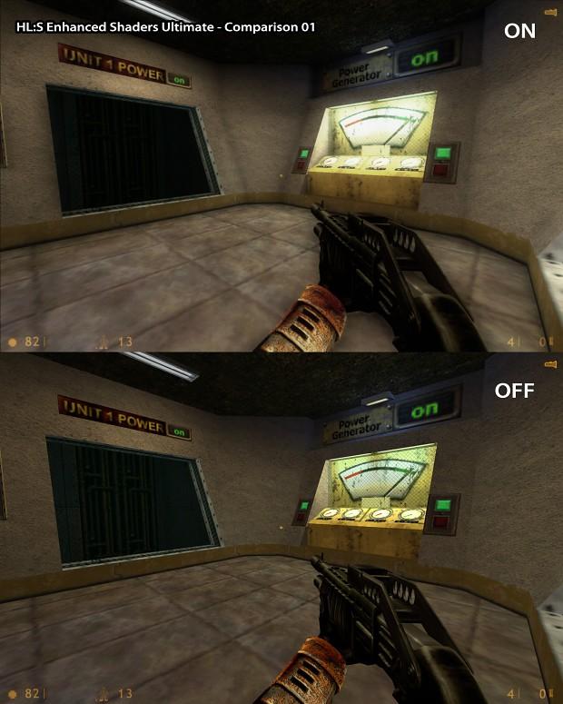 HL:S - Enhanced Shaders Ultimate - Comaprison 01