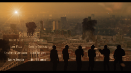Soulless - Ravaged City Poster