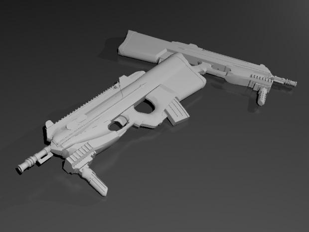 FN F2000 (No Texture)