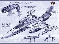 Yak-28 VTOL Concept