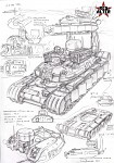 Soviet rocket tank RT-2