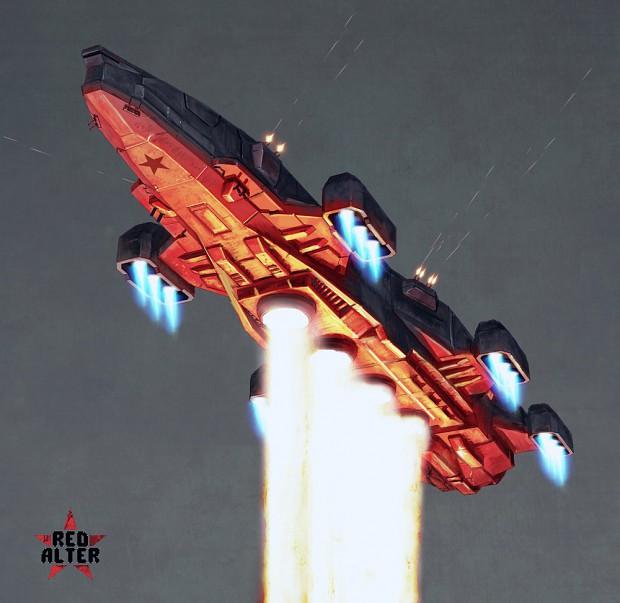 """Soviet airship """"Furnace"""""""