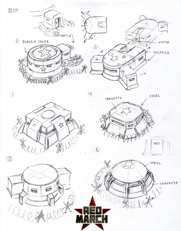 Pact Pillboxes concept art