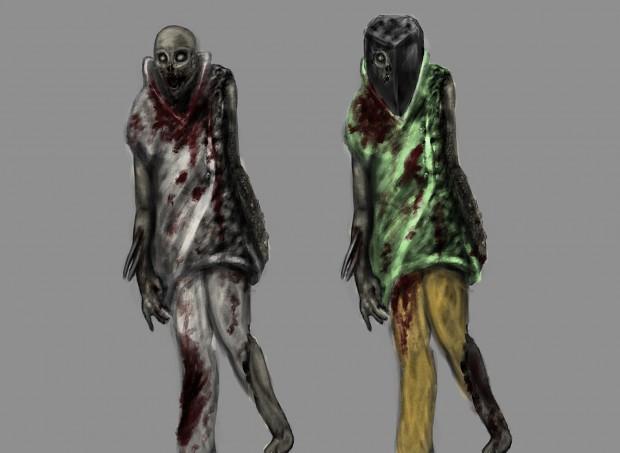 Zombie concept - Lab