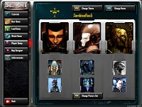 Player Selection Screen
