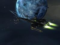 Hypercorp Destroyer Scene