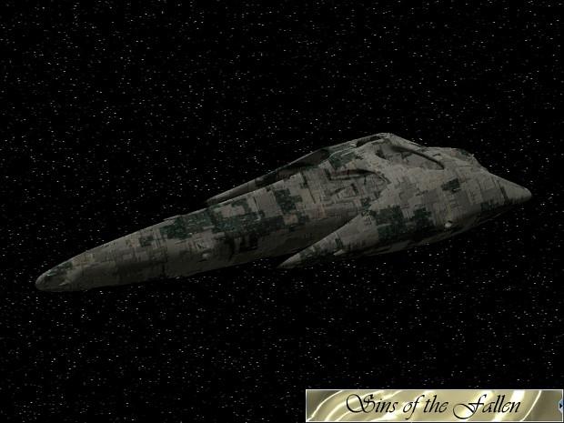Nephilim Carrier Concept Texture