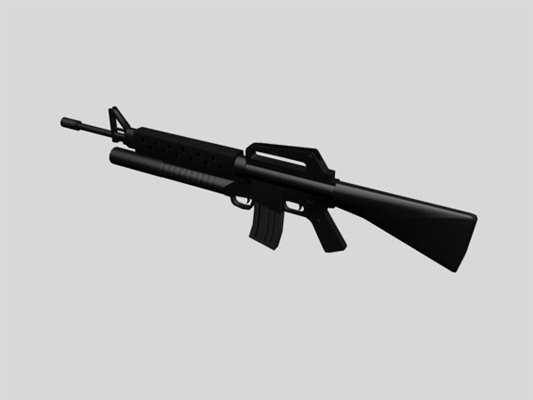 M16 first stage model