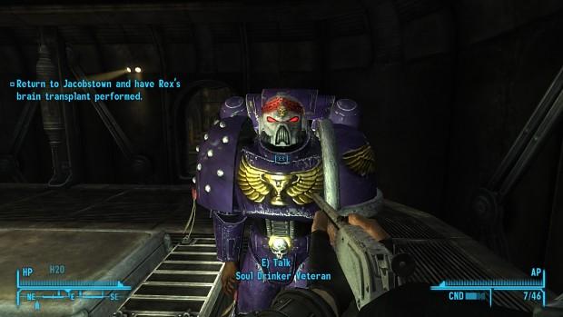 Crusader Build Fallout