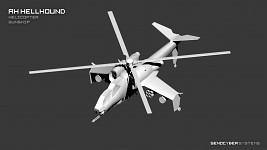 AH Hellound Helicopter Gunship