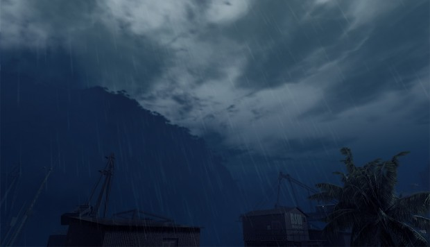 rainy sky image - wreckage mod for crysis wars