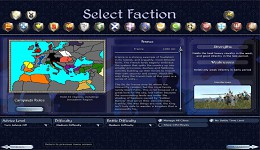 French campaign selection map