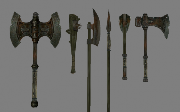 Iron Weapons are now a bit more uniform (vanilla textures)