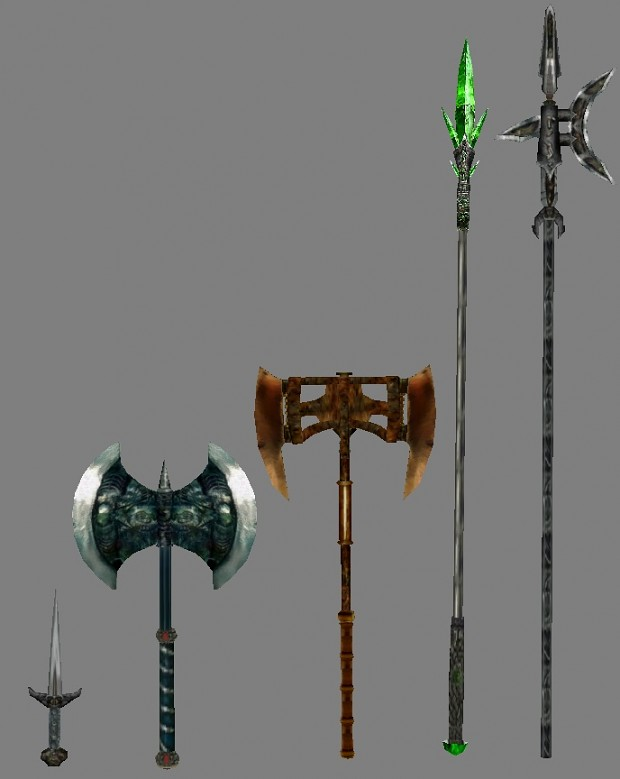 Also some new weapons in 2.0