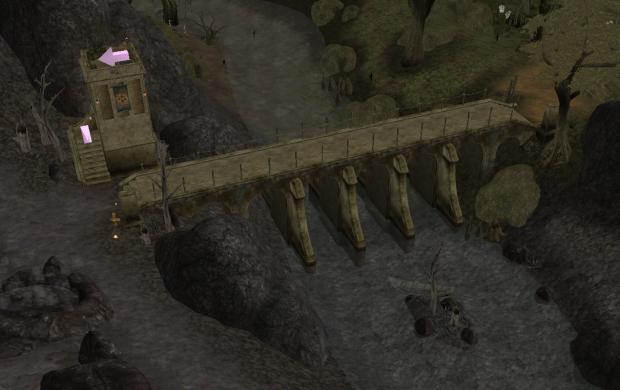 Odai Watchtower and bridge