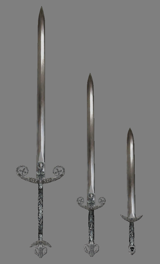 New models for silver swords