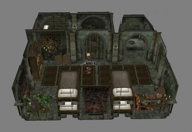 Skyrim Mission Bedrooms