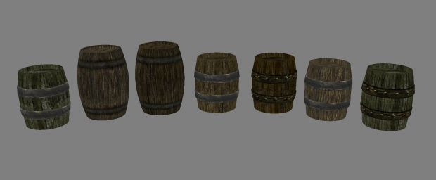 Barrels are no longer identical