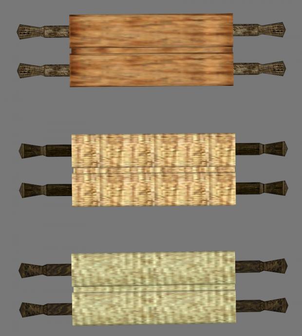 Unique Blank Scrolls
