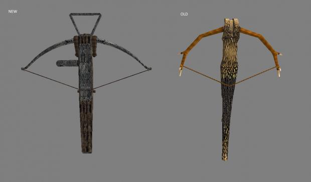 New model for Huntsman Crossbow