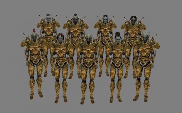 Hlaalu Guard Diversity