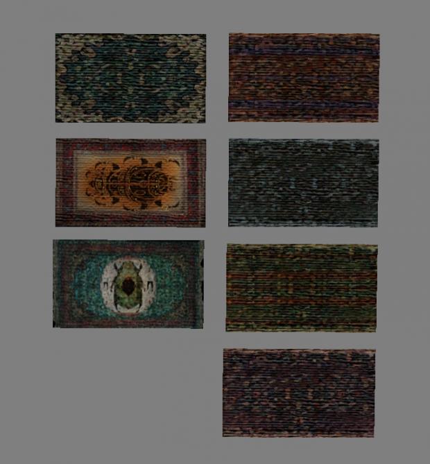 New rugs (vanilla style)