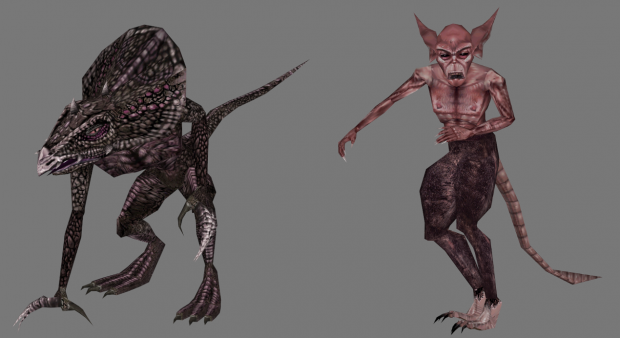 Added unique textures to the Clannfear Runt and the Stunted Scamp