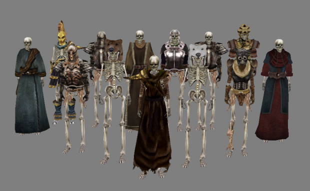 New skeletons