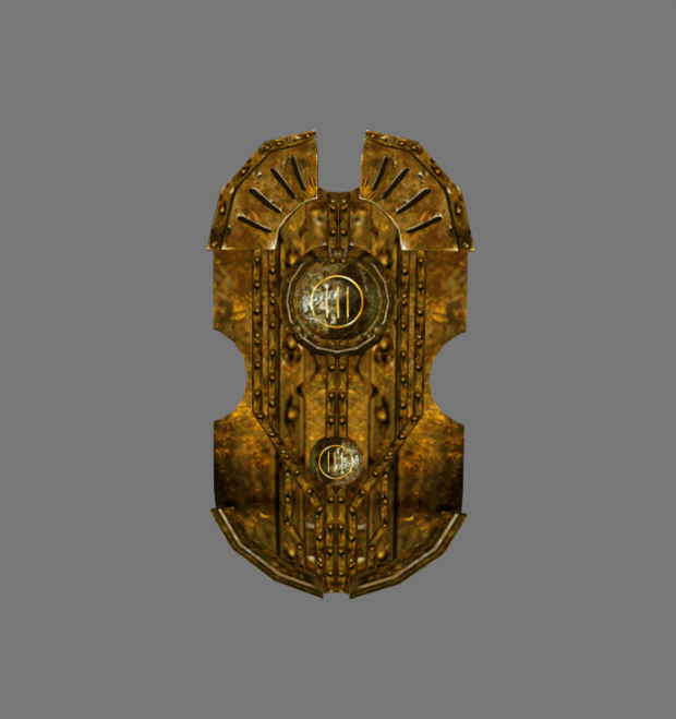 New model for the Dwemer Towershield