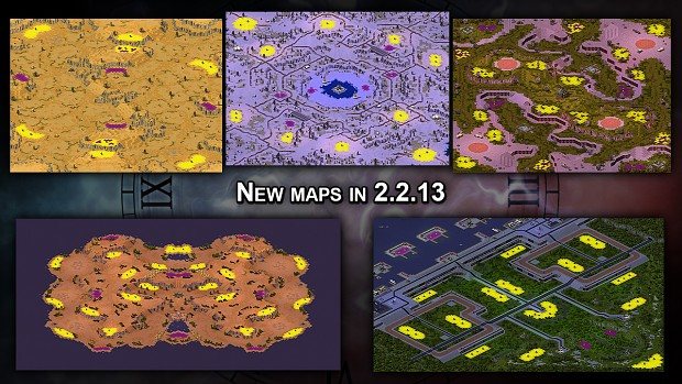 New maps in 2.2.13