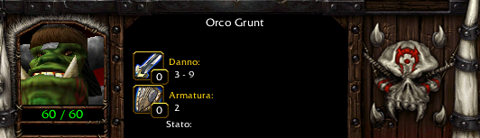 Grunt in-game stats.