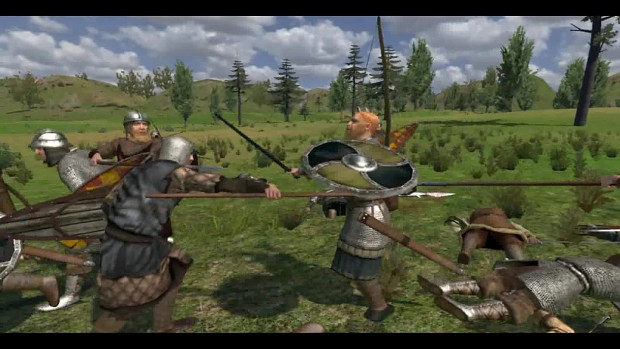 Mount And Blade Warband скачать мод Ad 1200 - фото 8